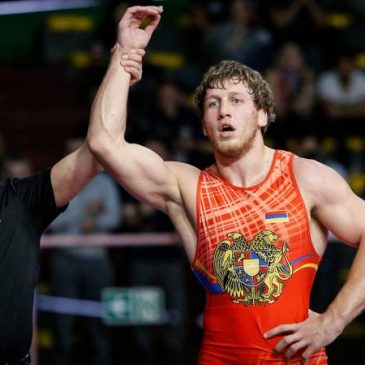 Artur Aleksanyan Campeón de Europa de Lucha por quinta vez