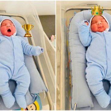 Mujer armenia da a luz a un bebé hercúles saludable de 5,5 kilogramos