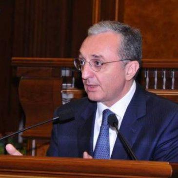 La lucha por el reconocimiento del genocidio armenio nunca se detendrá – dijo el canciller de Armenia Mnatsakanyan
