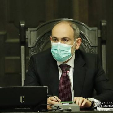 Primer ministro armenio-«La estrategia es endurecer y garantizar el mantenimiento de las reglas contra el coronavirus»