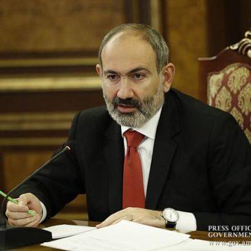 El primer ministro armenio y su familia 'dan positivo' por coronavirus