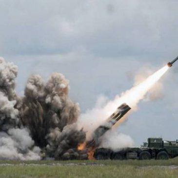Fuerzas azerbaiyanas disparan con lanzacohetes pesados Smerch contra civiles en Artsaj