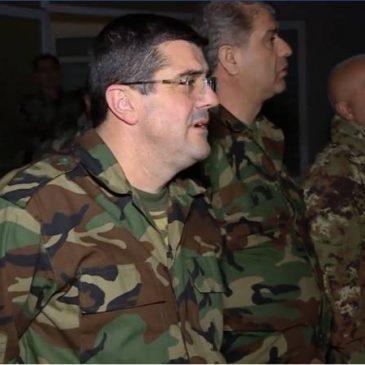 'Hoy estamos determinando nuestro futuro': el presidente de Artsaj se dirige a las fuerzas especiales