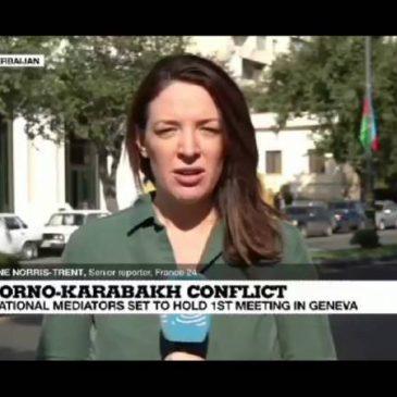 Reportero de France24 dice que las autoridades azerbaiyanas violan la libertad de prensa