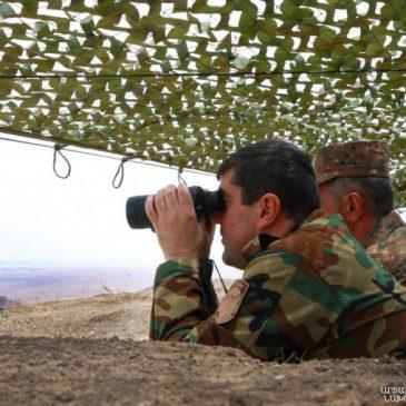 Después de intensos combates, el Ejército de Defensa ha mejorado su posición y estamos preparando el terreno para un mayor avance.Arayik Harutyunyan- Presidente de Artsaj