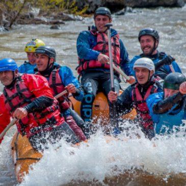 Primera vez que se realiza competencia de Rafting en Armenia.