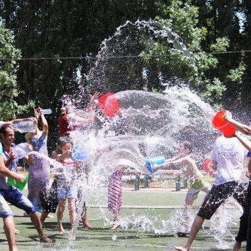 VARDAVAR, fiesta popular de purificación, amor y unidad por medio del agua.