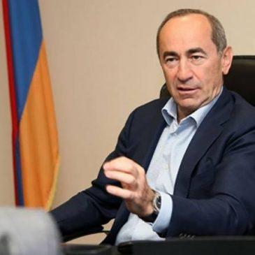 Los abogados de Kocharyan presentaron la apelación de su prisión preventiva.