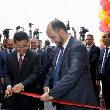 Se inauguró la escuela de amistad Armenia-China en Yerevan.