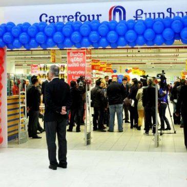 Carrefour abrirá su segundo hipermercado en Yereván