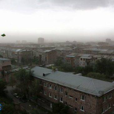 Se esperan fuertes vientos en Armenia y los meteorólogos advierten sobre «poderoso frente atmosférico»
