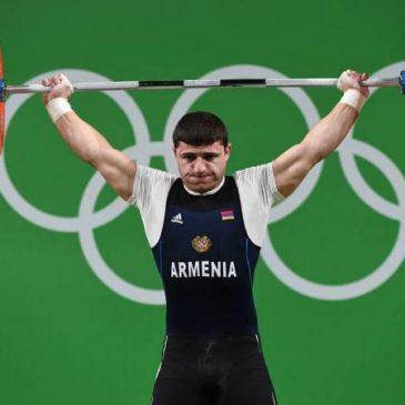 El levantador de pesas Andranik Karapetyan se coronó campeón y poseedor del récord europeo sub-23