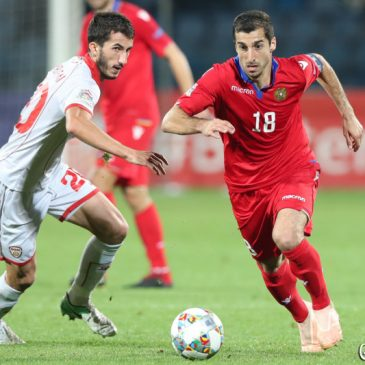 Armenia venció 4-0 a Macedonia por la UEFA Nation