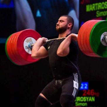 El levantador de pesas Simon Martirosyan conquista el título de campeón mundial