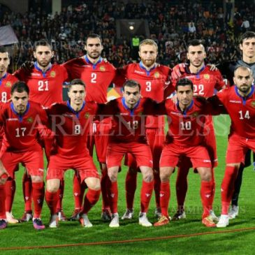 Armenia venció a Gibraltar 6-2 en el partido de vuelta de la Nations League