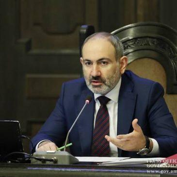 No se trata de aislarnos, sino de aprender a convivir con el coronavirus – PM Pashinyan