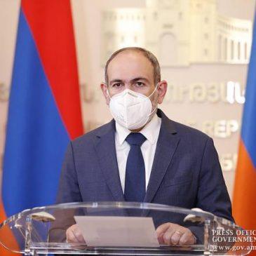 Mejora significativamente la situación por COVID 19 en Armenia – PM Pashinyan