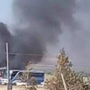 Ejército azerbaiyano bombardea autobús civil en la ciudad armenia de Vardenis