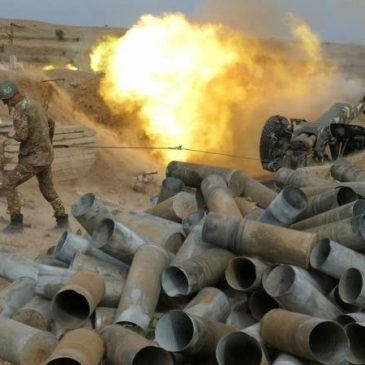 Azerbaiyán utiliza las horas que quedan hasta el alto el fuego. El Ejército de Defensa rechaza todos los ataques.
