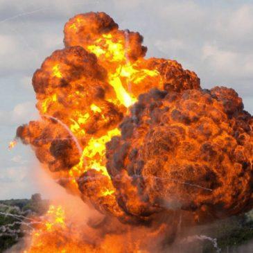 Fuerzas armadas armenias destruyeron el aeropuerto militar de Ganja en Azerbaiyan